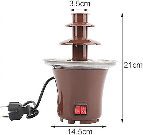 Fuente eléctrica de chocolate para máquina de cocina, para ...