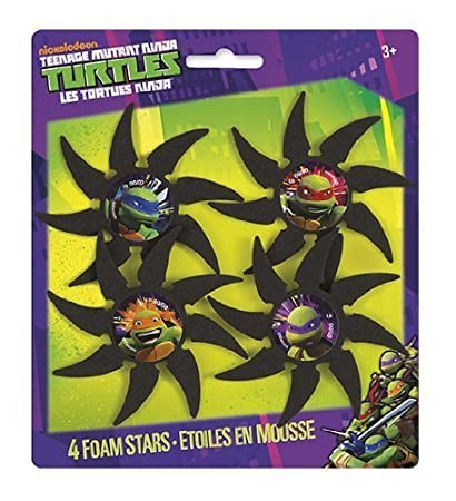 Amazon.com: Teenage Mutant Ninja turtles4 PC Espuma ...