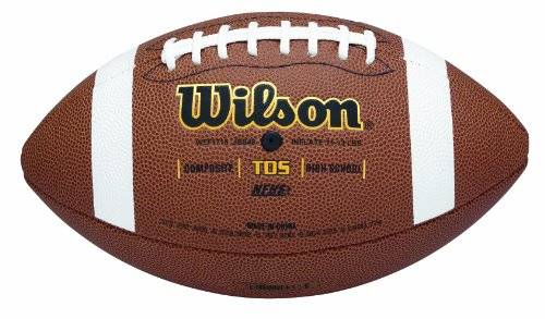 - Wilson TDS Composite Football - Official