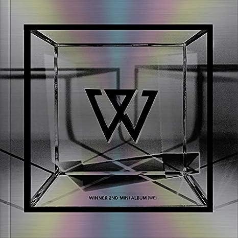 YG Winner - WE [Silver ver ] (2nd Mini Album) CD+72p  Photobook+Postcard+Polaroid+2Photocards+Double Side Folded Poster+Double  Side Extra Photocards