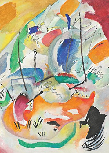 National Gallery of Art The Collection Kandinsky/Improvisation 31'' Holiday Cards (Box of 16) by National Gallery of Art
