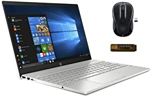 "Latest_HP_15 Pavilion 15.6"" FHD Touchscreen Laptop, Intel Core i7-1065G7, 16GB RAM, 512GB SSD + 32GB USB Flash Drive, USB 3.1 Gen 1 Type-C, Bluetooth, Webcam, Windows 10 with Wireless Mouse"