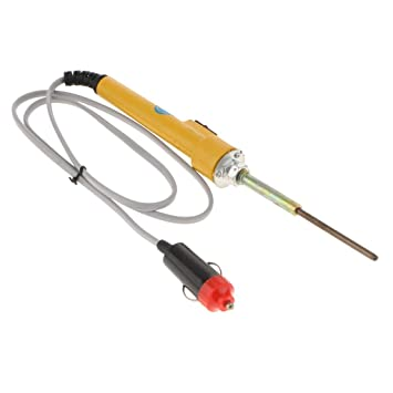 B Blesiya Soldador Eléctrico Alta Potencia Interruptor Ensayo Eléctrico Aficionado de Electrónica Duradero - 24V: Amazon.es: Bricolaje y herramientas