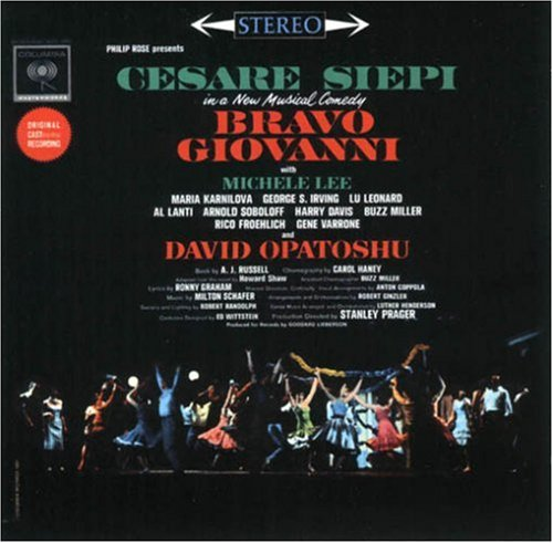 Bravo Giovanni 1962 Cast Original Cheap bargain Broadway Popular shop is the lowest price challenge