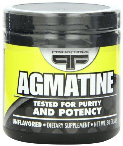 Force de prima Agmatine supplément nutritionnel, 30 grammes