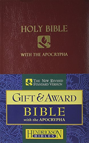 Holy Bible: NRSV, Burgundy Imitation Leather, With the Apocrypha, Gift & Award