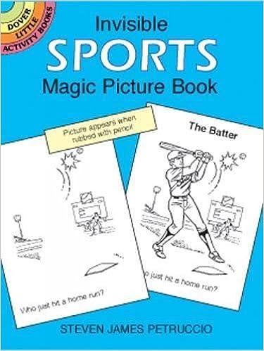 Invisible Sports Magic Picture Book