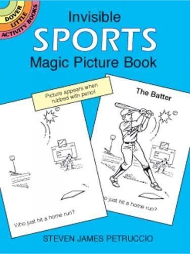 Magic Picture Book (Invisible Sports Magic Picture Book (Dover Little Activity Books))