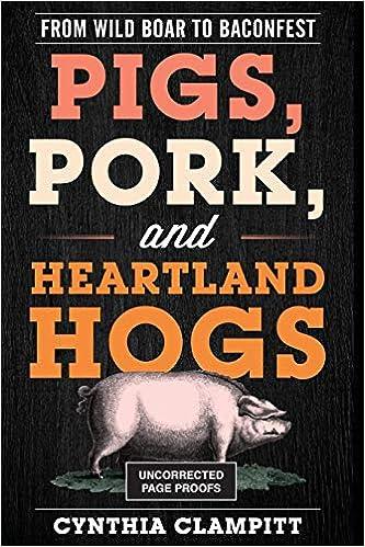 Pigs, Pork book cover