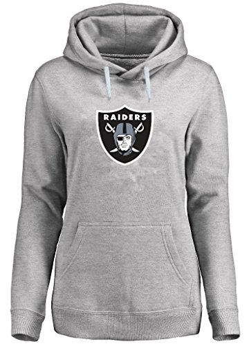 Hood Athletic Majestic (Oakland Raiders NFL Womens Majestic Critical Victory Hoodie Plus Sizes (2X))