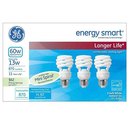 ge cfl light bulbs - 9