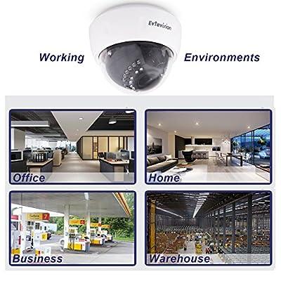 Evtevision 4mp 1080p 720p AHD TVI CVI CVBS Camera by Evtevision