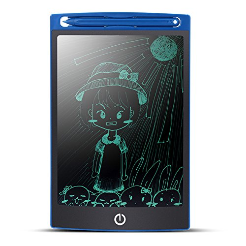 Do4U 8.5-inch LCD Writing Tablet Electronic Writing Board Digital Drawing and Writing Paperless Notepad Gifts For Kids Office Writing Memo Board(Blue) by Do4U
