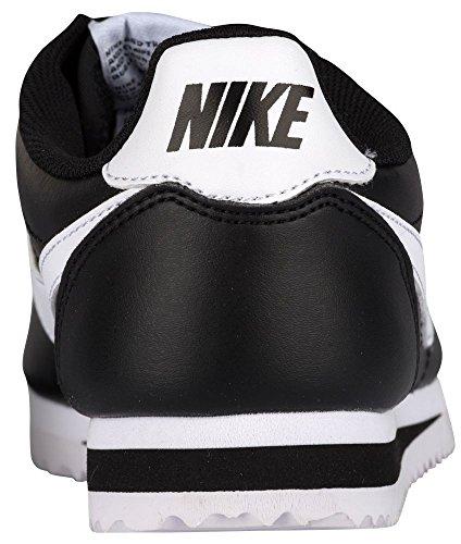 Nike Damen Wmns Classic Cortez Leather Low-Top, Bianco, 36,5 EU Schwarz