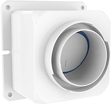 Gtagain Hardware Herramientas Cocina Campana Accesorios Válvula de Retención - Plastico Tubería Respiraderos Anti Humo Máquina Salida Olor Control Sellado Conducto Verificación Válvula: Amazon.es: Bricolaje y herramientas