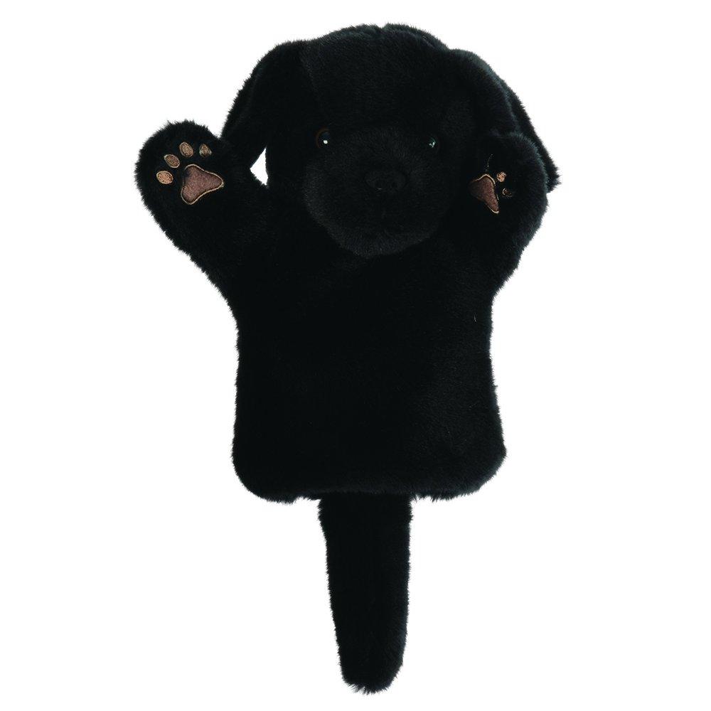 The Puppet Puppet Puppet Company Schwarzer Labrador - Hund Handpuppe 9c04b1
