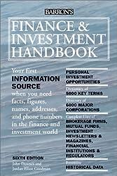 Finance and Investment Handbook (Barron's Finance and Investment Handbook)