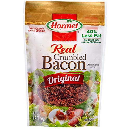 HORMEL Premium Real Crumbled Bacon, 4.3 Ounce (Hormel Real Bacon)