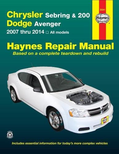 Chrysler Import - Chrysler Sebring & 200 and Dodge Avenger: 2007 thru 2014, All models (Haynes Repair Manual)