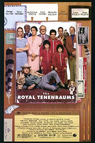 11 x 17 The Royal Tenenbaums Movie Poster