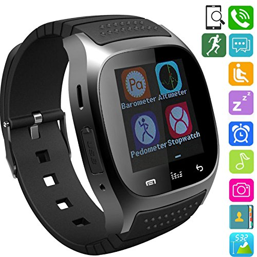 Cheap Fashionlive Smart Watch Wireless Sports Wristwatch Touch Screen Phone Pedometer Sleep Monitor for Android Samsung LG Smartphones