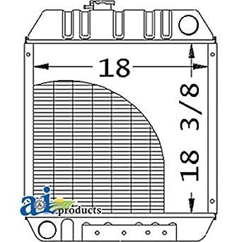 Amazon com: A-86534249 Ford New Holland Parts Radiator LX565