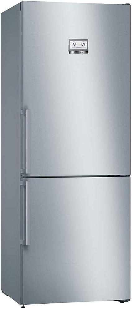 Bosch Serie 6 KGN49AI3P Independiente 435L A++ Acero inoxidable nevera y congelador - Frigorífico (435 L, SN-T, 15 kg/24h, A++, Compartimiento de zona fresca, Acero inoxidable): 1161.6: Amazon.es: Grandes electrodomésticos