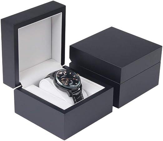 Caja para Relojes de Madera Diseño de Lacado de Piano Estuche para ...