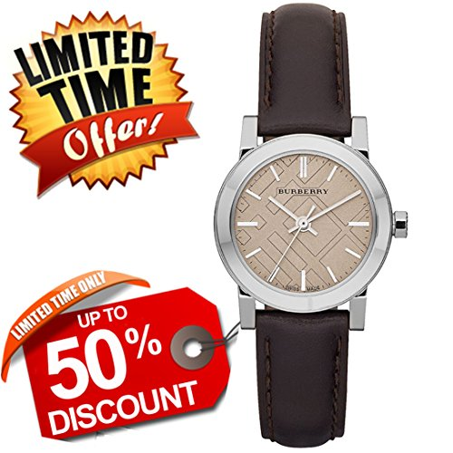 Cream Dial Brown Leather - 9