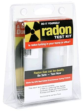 Amazon h chek do it yourself radon test kit health personal care h chek do it yourself radon test kit solutioingenieria Images