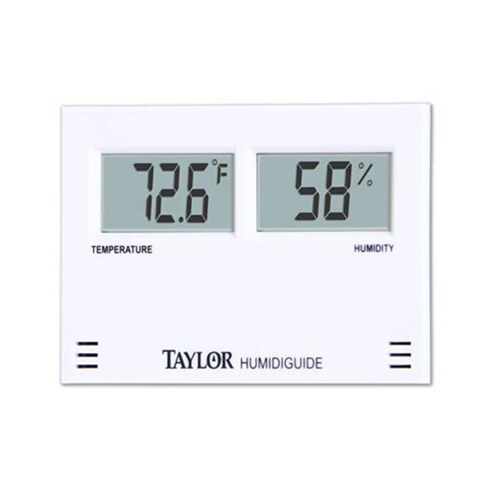 Taylor Precision Products Digital Thermometer/Hygrometer Combination Unit (-58- to 158-Degrees Fahrenheit) by Taylor Precision Products (Image #1)