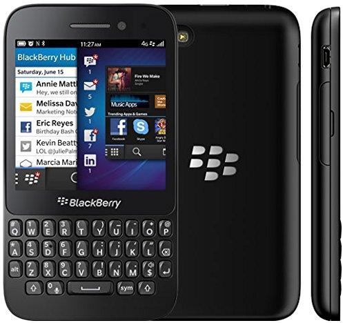 UNLOCKED Blackberry Q5 GSM Quad-Band Smartphone, BLACK, SQR100-1 2G GSM 850/900/1800/1900MHZ, 3G UMTS 800/850/1700/1900/2100MHZ, 4G LTE 700/850/1700/1900/2100MHZ ()