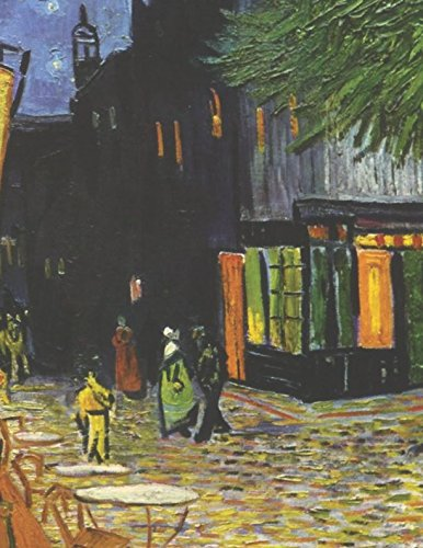 - 600 Page Sketchbook: Vincent Van Gogh Cafe Terrace at Night Art Journal for Doodling and Sketching