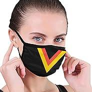 KIKIMEN Van Vancouver- Canucks Hockey Team Accessories Women's Adult Fashionable Protection Reusable Fabri