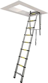 Bricolaje Bentley plumbtap/escalera telescópica - 2,6 metros/8,5 Pie de aluminio: Amazon.es: Bricolaje y herramientas