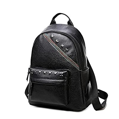 2017new collection Han edition women fashion black backpack