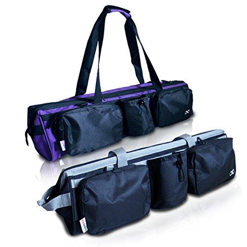 YogaAddict Yoga Mat Tote Gym Bag