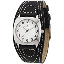 Tom Tailor 5409901 - Women's Watch, Leather, Black Color