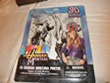 Hannah Montana 3D Poster with Markers