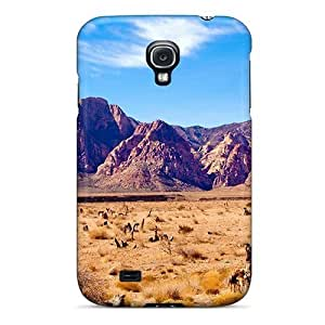 New Tpu Hard Case PremiumIpod Touch 5 Skin Case Cover(red Rock In The Winter Sun)