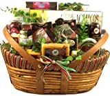 Gift Basket Village The Midwesterner Cheese and Sausage Gift Basket, Large