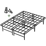 Best Spring Mattresses With Square Corners - 45MinST 16 Inch Tall SmartBase Mattress Foundation/Platform Bed Review