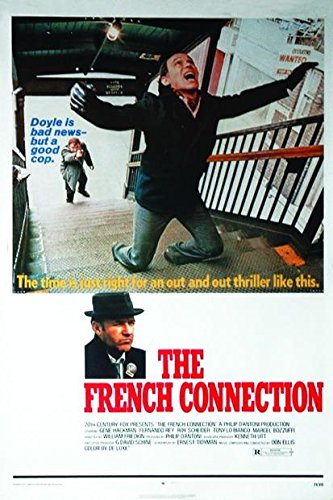 French Connection Movie Poster Regular Style Size 27 X 40 By Poster Stop Online