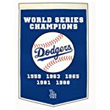 Los Angeles Dodgers World Series Championship Dynasty Banner - with hanging rod
