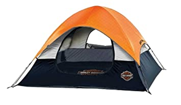 Harley-Davidson Road Ready 3-Person Tent  sc 1 st  Amazon.com & Amazon.com : Harley-Davidson Road Ready 3-Person Tent ...