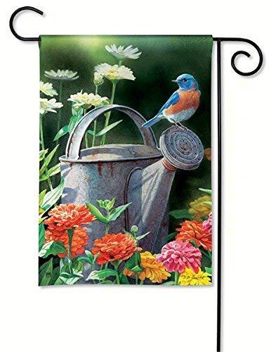 BreezeArt Garden Bluebird Garden Flag 31126