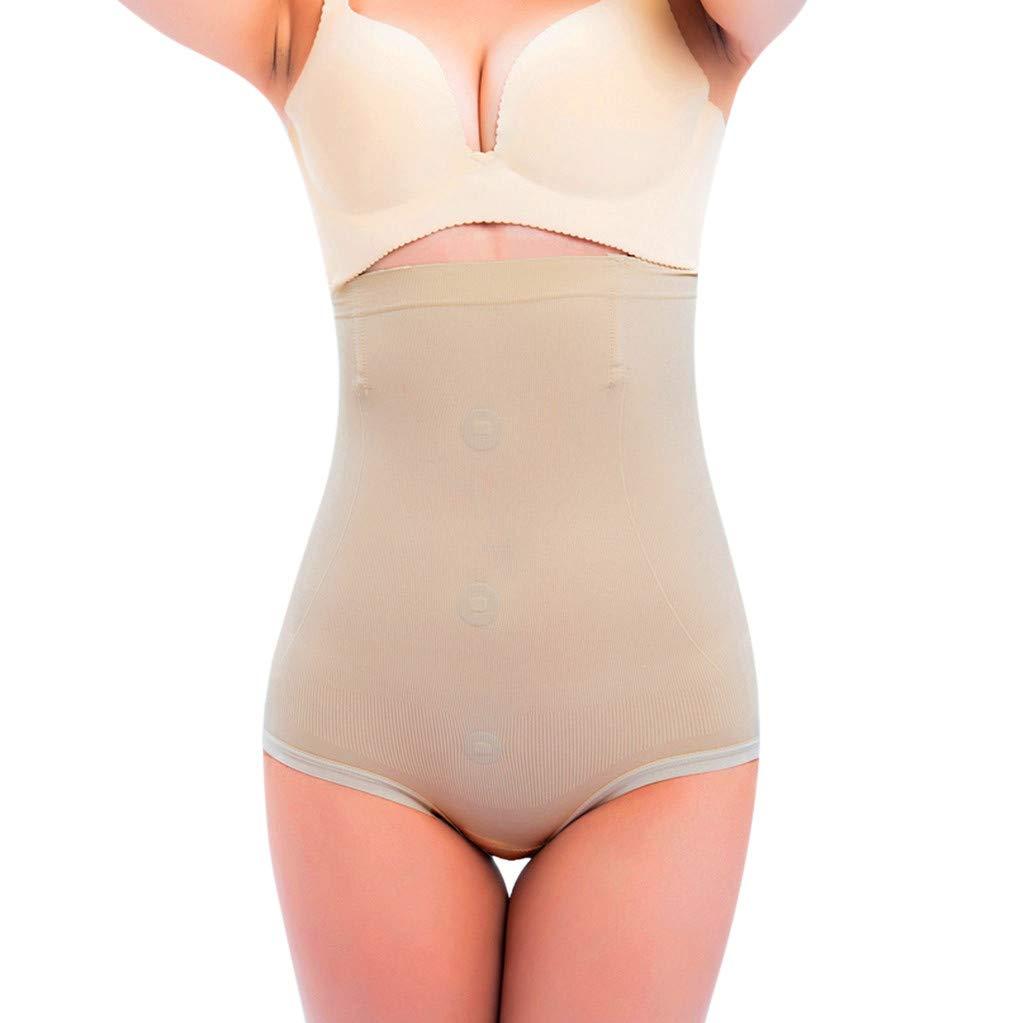 Womens Hi-Waist Body Shaper Butt Lifter Shapewear Trainer Tummy Control Panties Seamless Thigh Slimmers Cincher