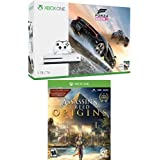 Xbox One S 1TB Console - Forza Horizon 3 + Assassin's Creed Origins Bundle