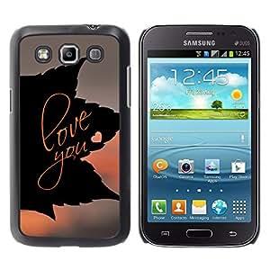 Stuss Case / Funda Carcasa protectora - AMOR QUE LA HOJA - Samsung Galaxy Win I8550