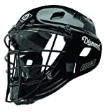 Diamond Edge Pro-Style Catcher's Helmet (Black, Large)